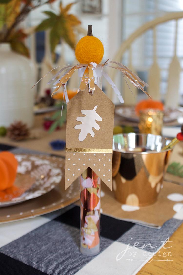 DIY Thanksgiving Decorations with Cricut - Jen T by Design #ad #CricutMarthaStewart #MadeWithMichaels #CricutMade #Cricut