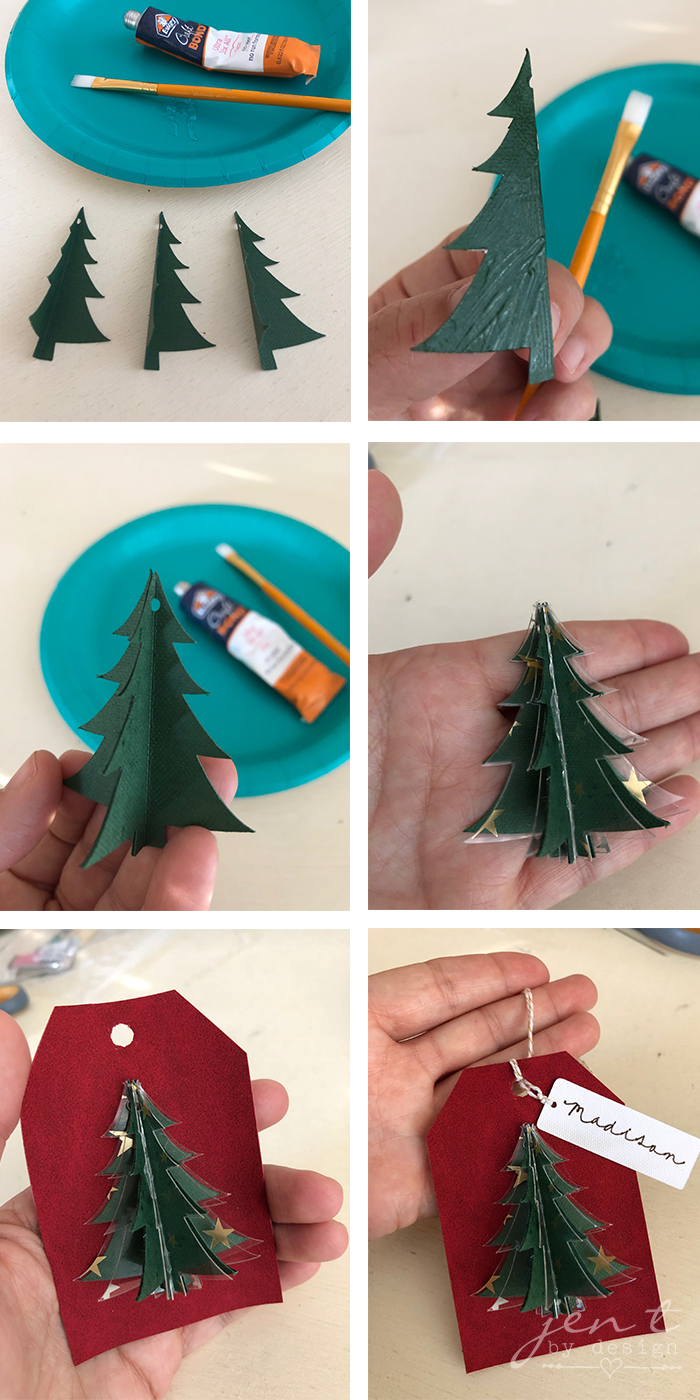 Diy Holiday Gift Tags Using The Cricut Maker Jen T By Design