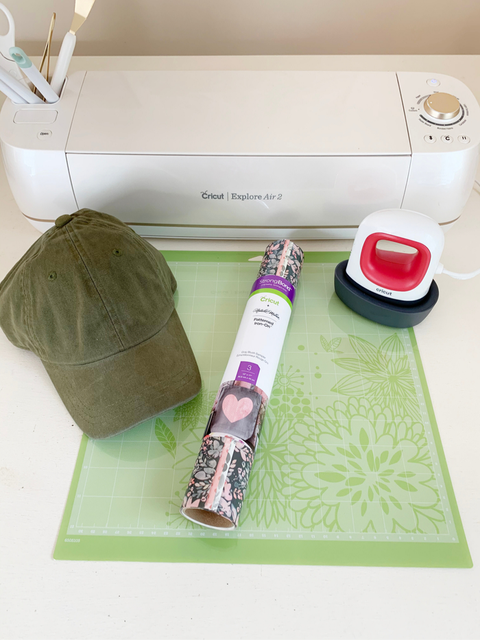 Make a State Pride Hat Using the Cricut EasyPress Mini #cricutcreated #ad