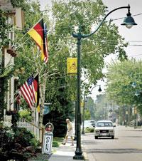 Main Street - Germantown , Wisconsin