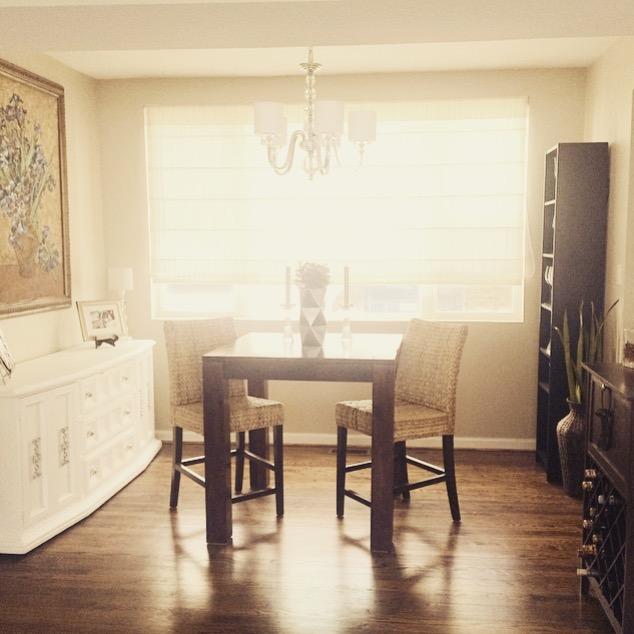 White Cabinet done by Petronella Designs