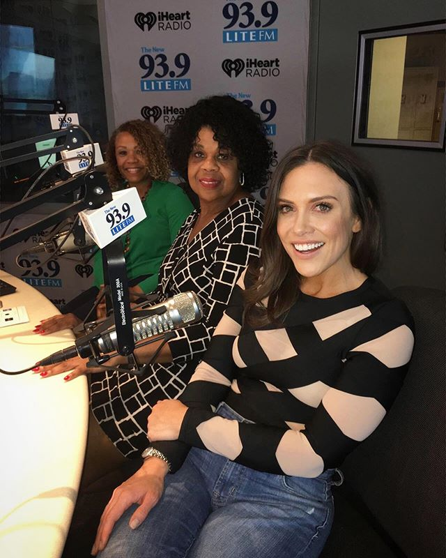 Double dose of inspiration this week on @iheartradio #whitneyswomen @dressforsuccess @artofgivingorg