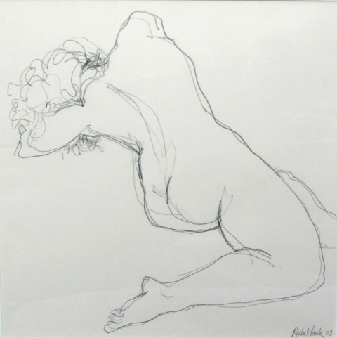 Dancer , pencil, 2010