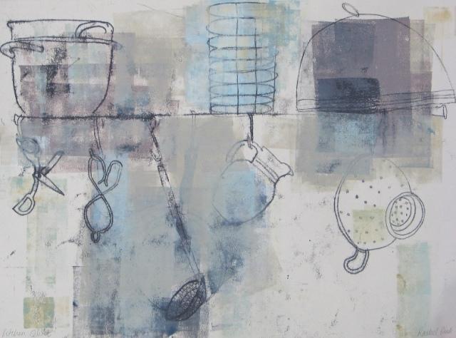 Kitchen Quiet , mixed media, 2010