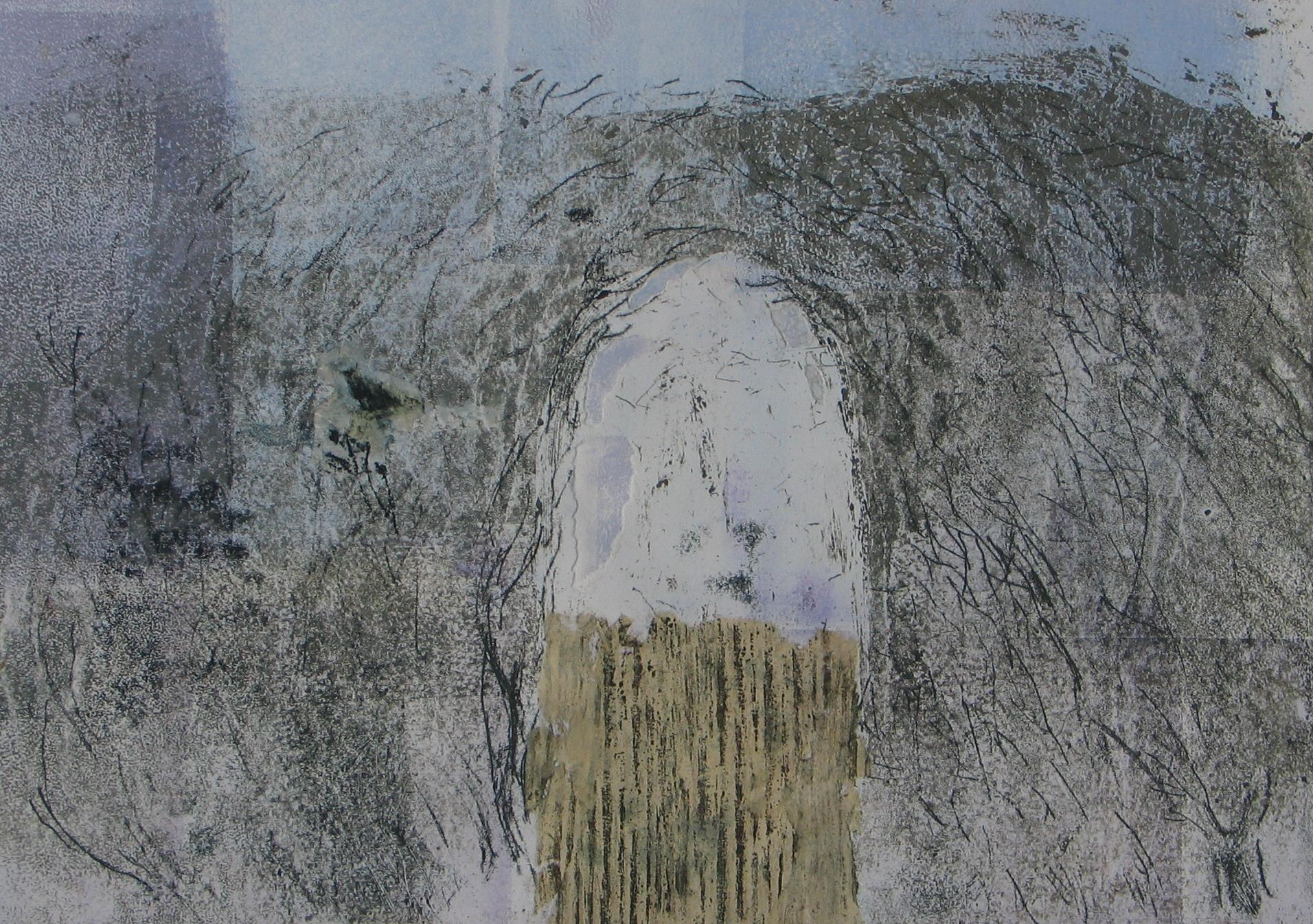 Twilight Song ,unique monotype, 2013
