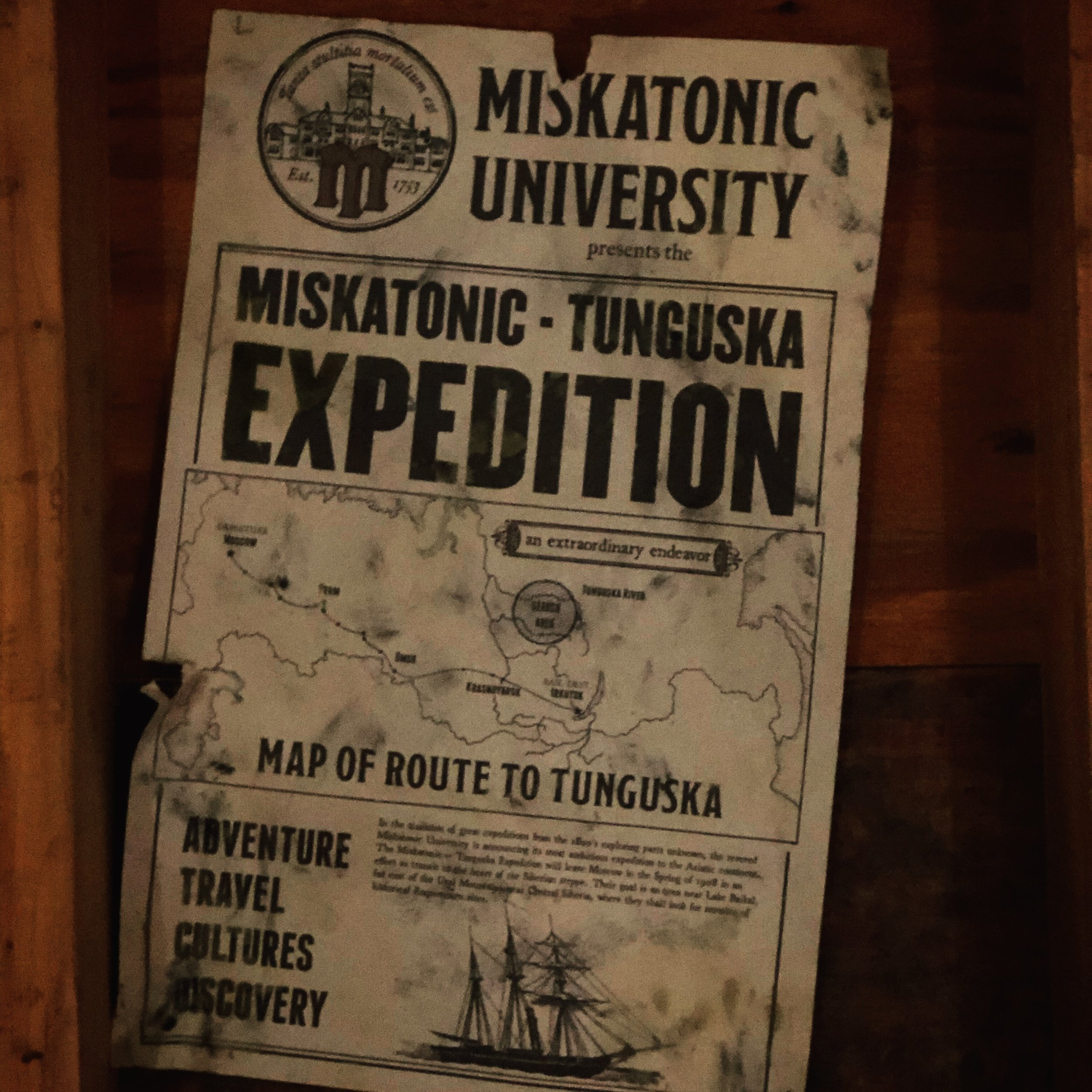The Expedition Broadside