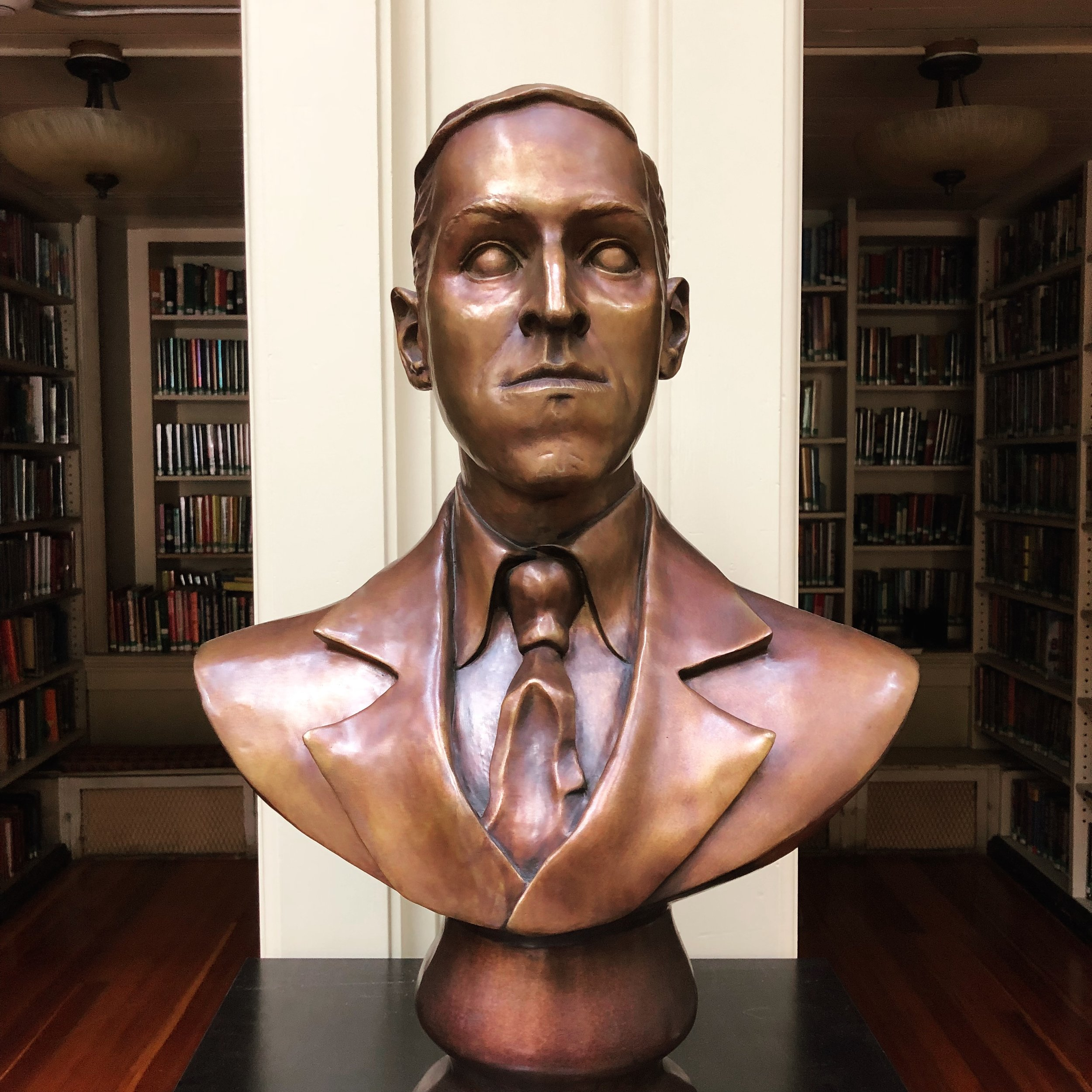 Lovecraft Bust.JPG