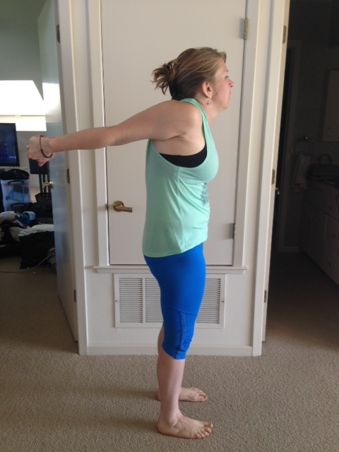 In order to get my forearms all the way to parallel, I lose the integrity of my posture and slouch.