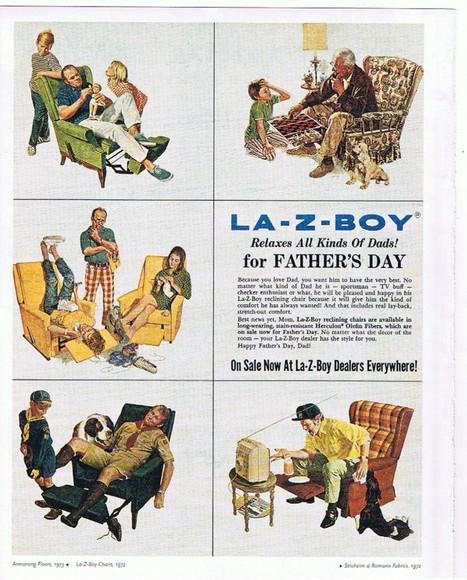 1972 La-z-boy ad.