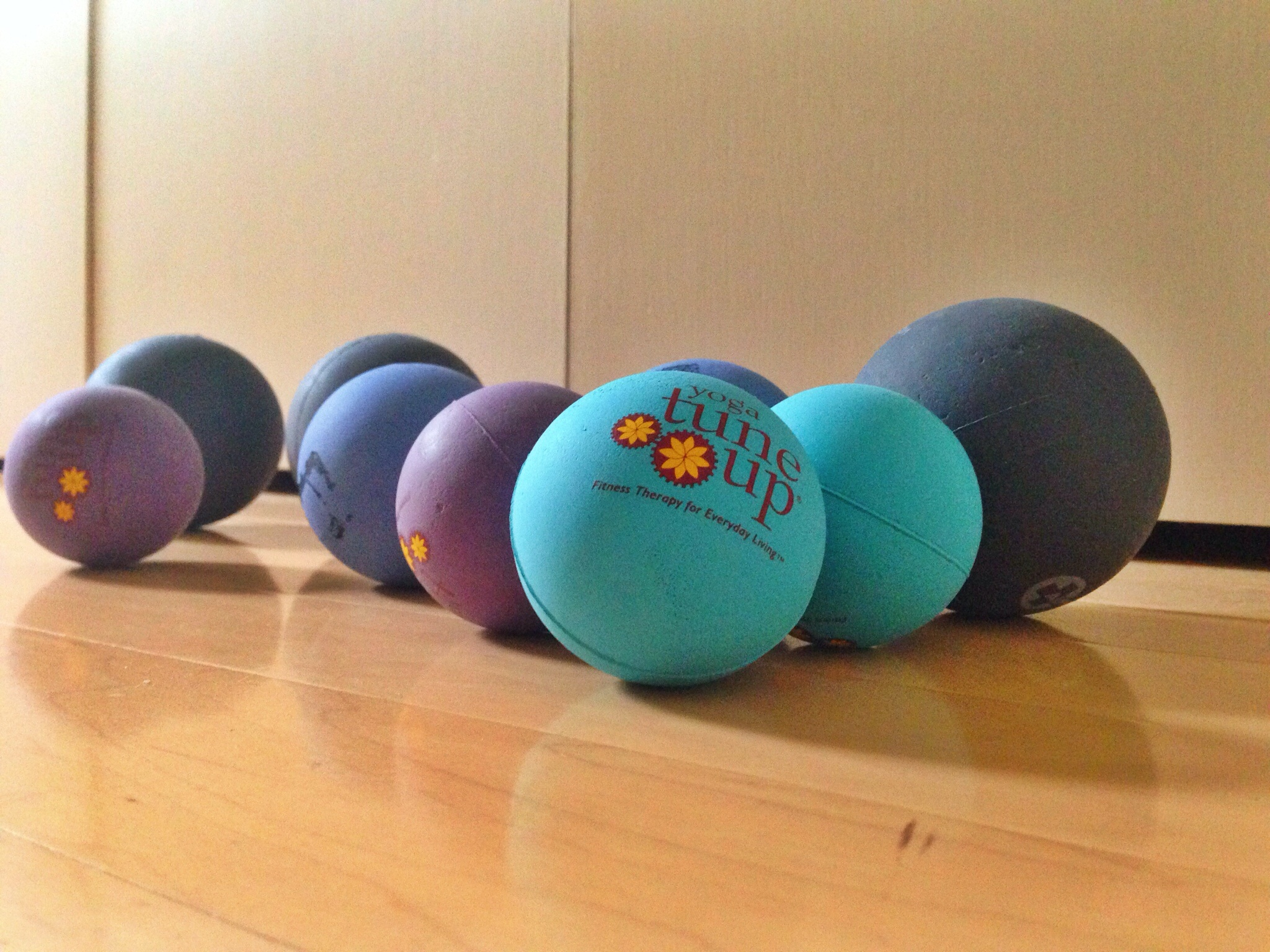 In addition to walking daily, self-massage with squishy rubber balls has helped SO much with shoulder, back, neck, and hip pain, either from music-ing or just life in general.  I live with less pain and more mobility than ever before.