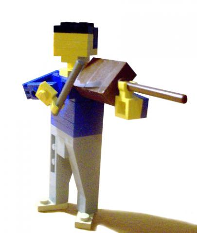Lego in turnout