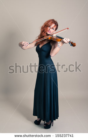 Always good to see a stock photo model in 5 inch heels trying to hold a bow.