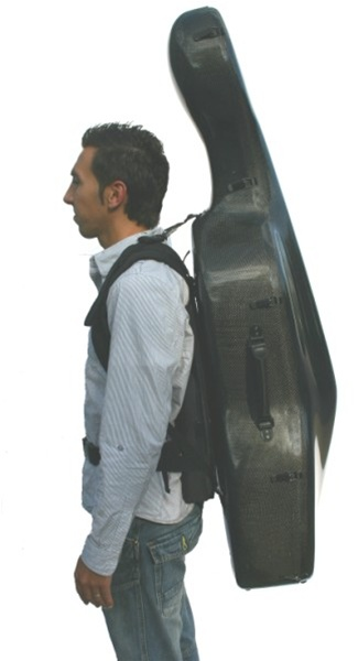 This guy is using his LS to carry his cello, although he has a waist strap to try to distribute the weight better throughout the upper body.  Although carrying a backpack will even out out the load between the shoulders (assuming the straps are the same length), both Levator Scapulae are working to hold the object in a fixed position.