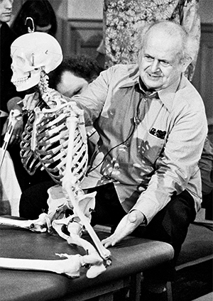 Moshe Feldenkrais 1904–1984, founder of the Feldenkrais Method.