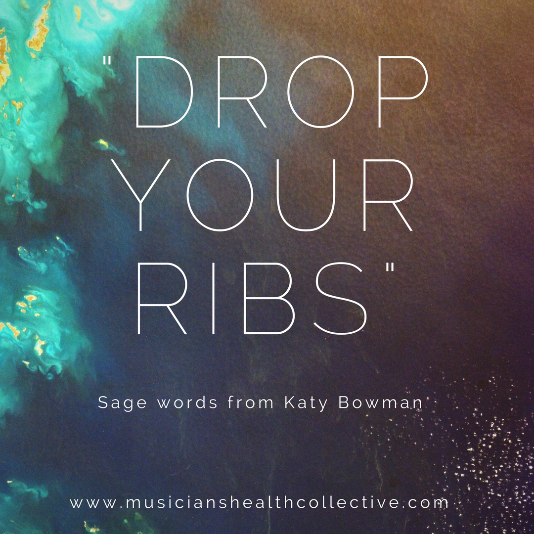 To read more from Katy or some others to address the rib flare, visit www.nutritiousmovement.com
