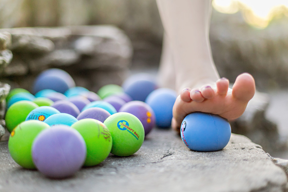 No one was really teaching the ball work when I moved to San Antonio, and it was an uphill slog of trying to get people used to self massage, but also trying not to be known as the ball lady, because it turns out there's more than just self massage to good movement classes.