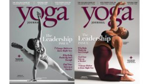Yoga Journal perplexed many readers by finally featuring Jessamyn Stanley on the cover…and then releasing a second version with a thin, white woman, albeit a famous teacher, doing a hard AF pose.  Way to be inclusive.