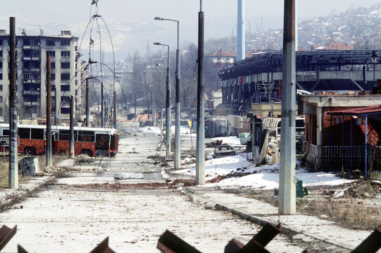 Sarajevo, rok 1996. Foto: Wikimedia/CC