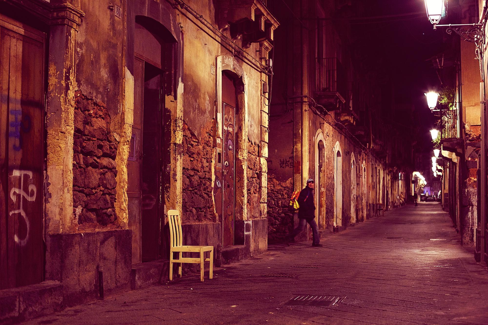The Streets of San Berillo Vecchio