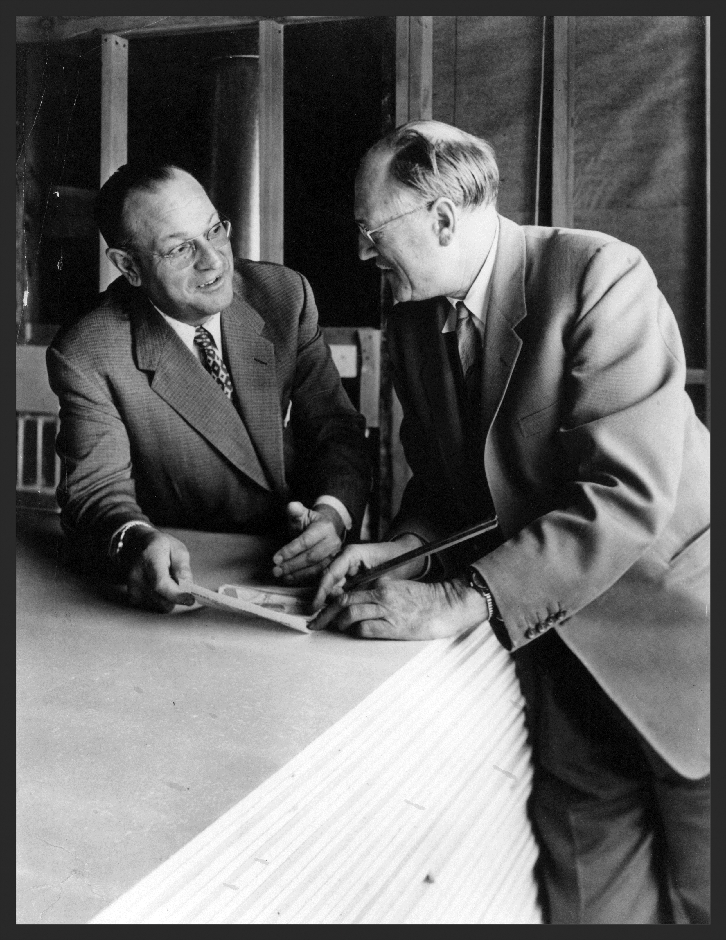 Carl and Fred Gellert   From The Fred Gellert Family Collection/San Mateo County History Museum