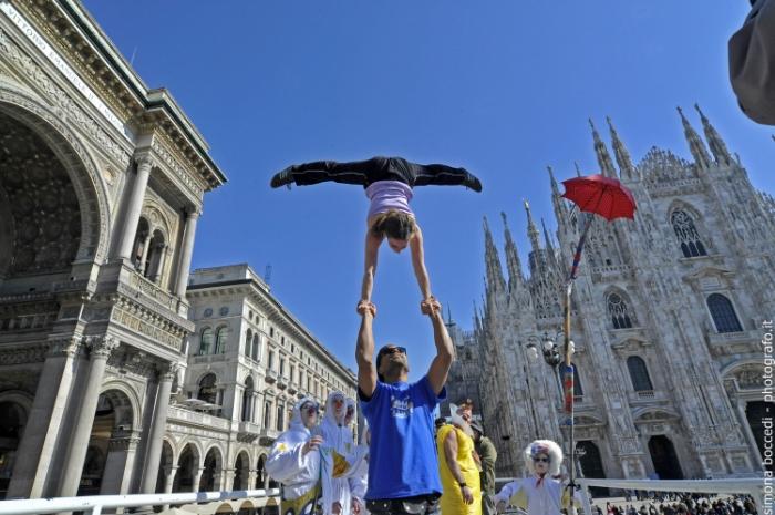 Inaugurazione in piazza Duomo