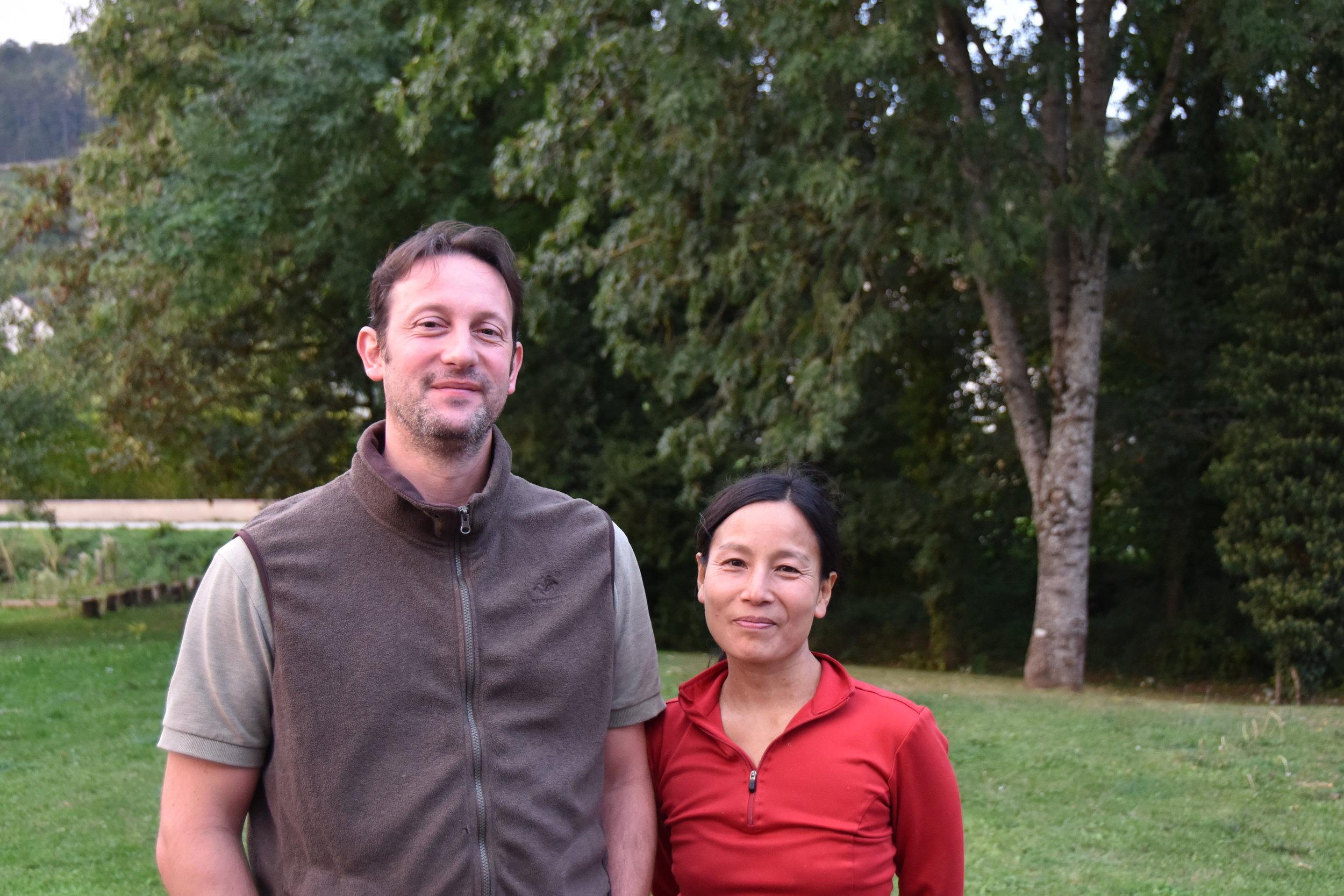 Guillaume Bott and Tomoko Kuriyama