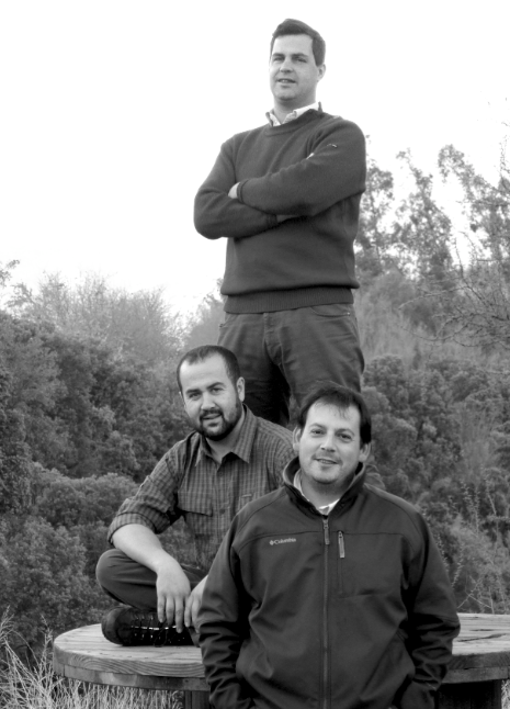 Louis-Michel Liger-Belair, François Massoc, and Pedro Parra