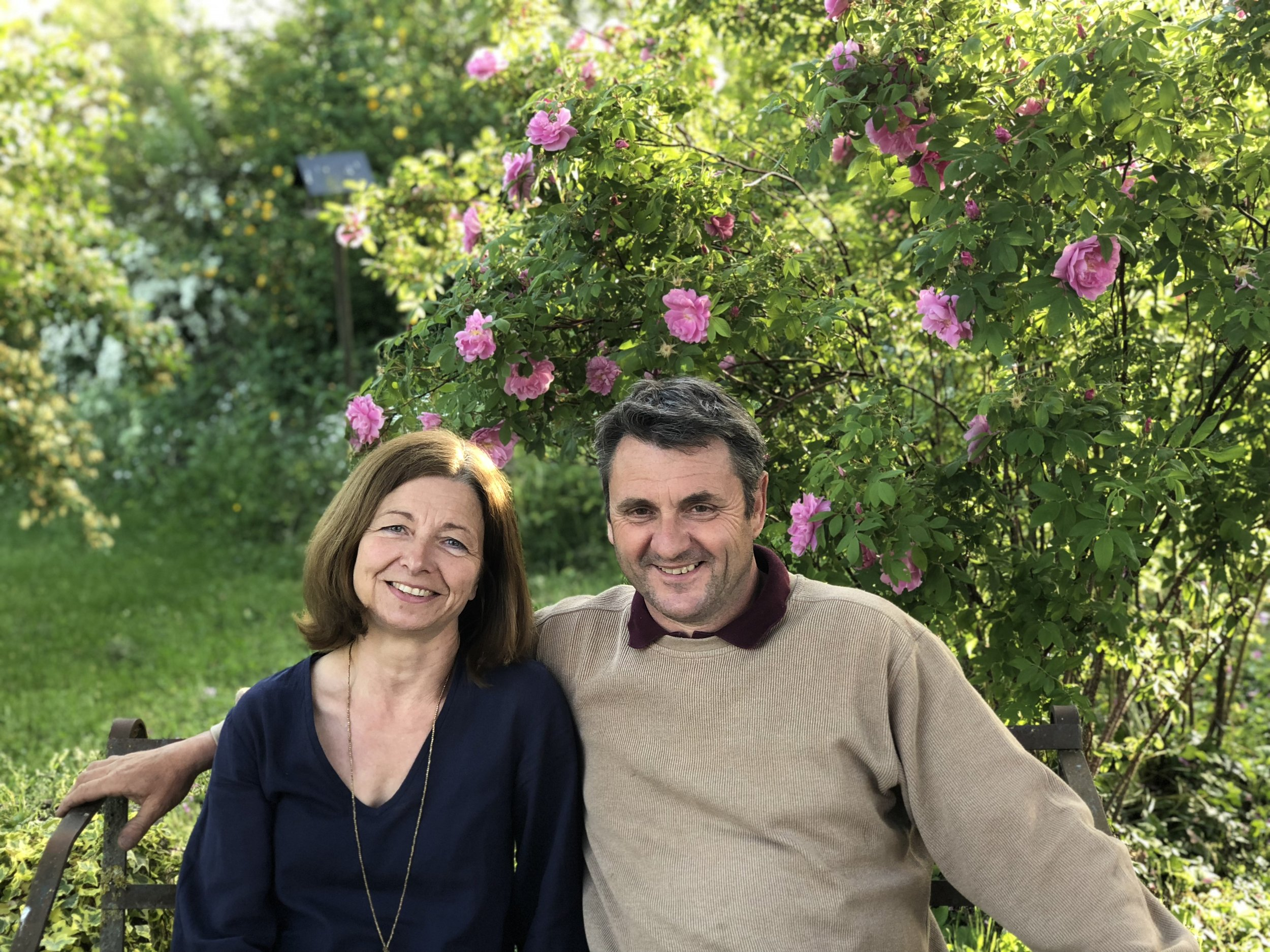 Valérie Lahaye-Auger and Benoit Lahaye