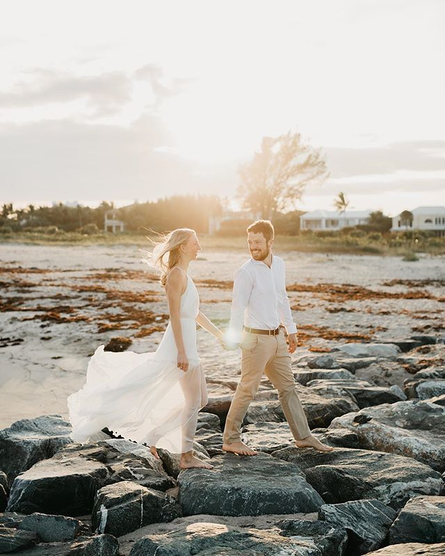 🎶 Summer summer summertime Time to sit back and unwind 🎶  What's your favorite summertime activity to keep cool but still enjoy the sun? #summer #engagement #palmbeach #summertime #goldenhour #summerlove