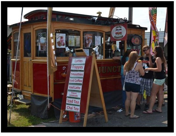 Java Junction customers get their morning start at the Upper Peninsula State Fair