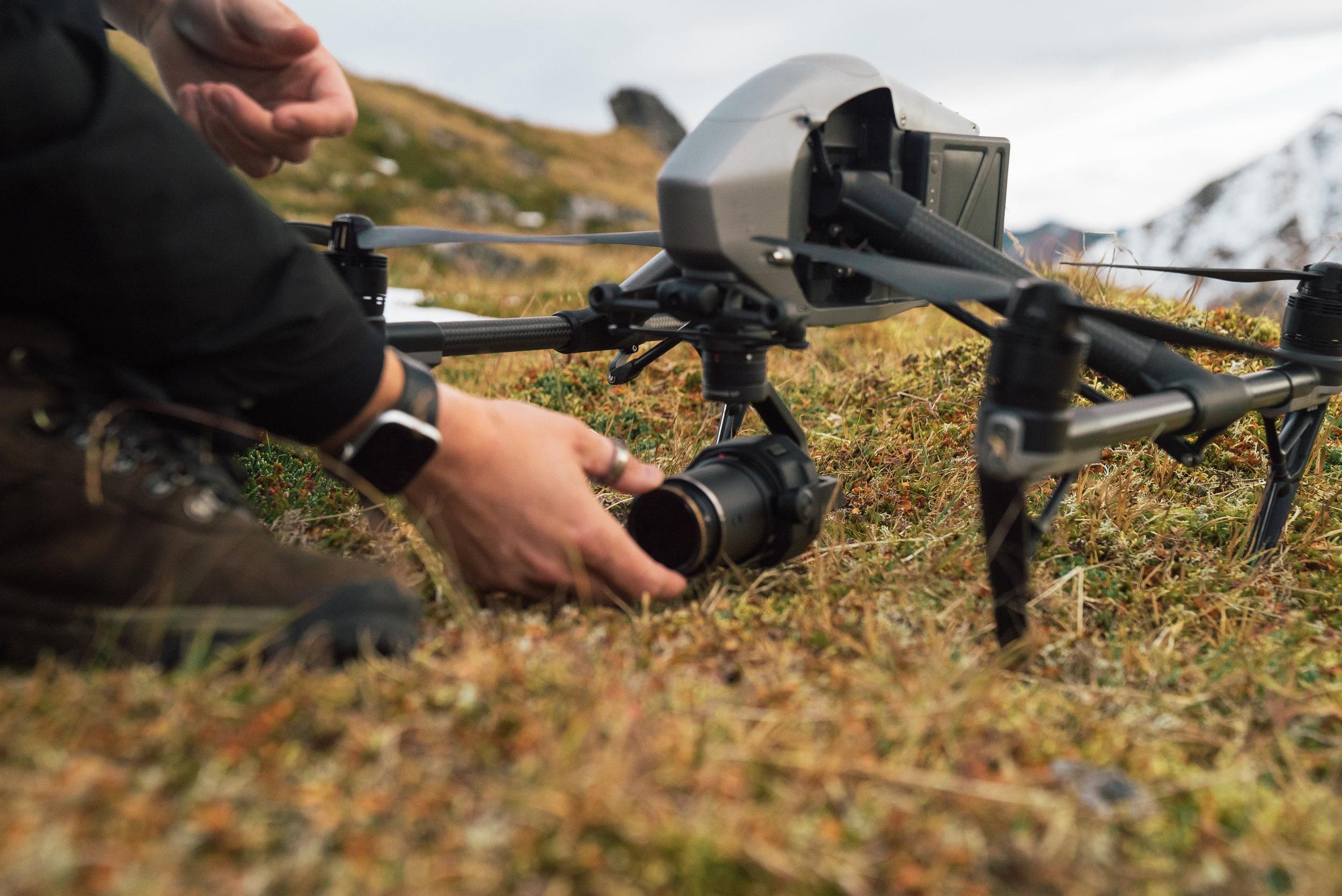 Drone Prep in Faroes