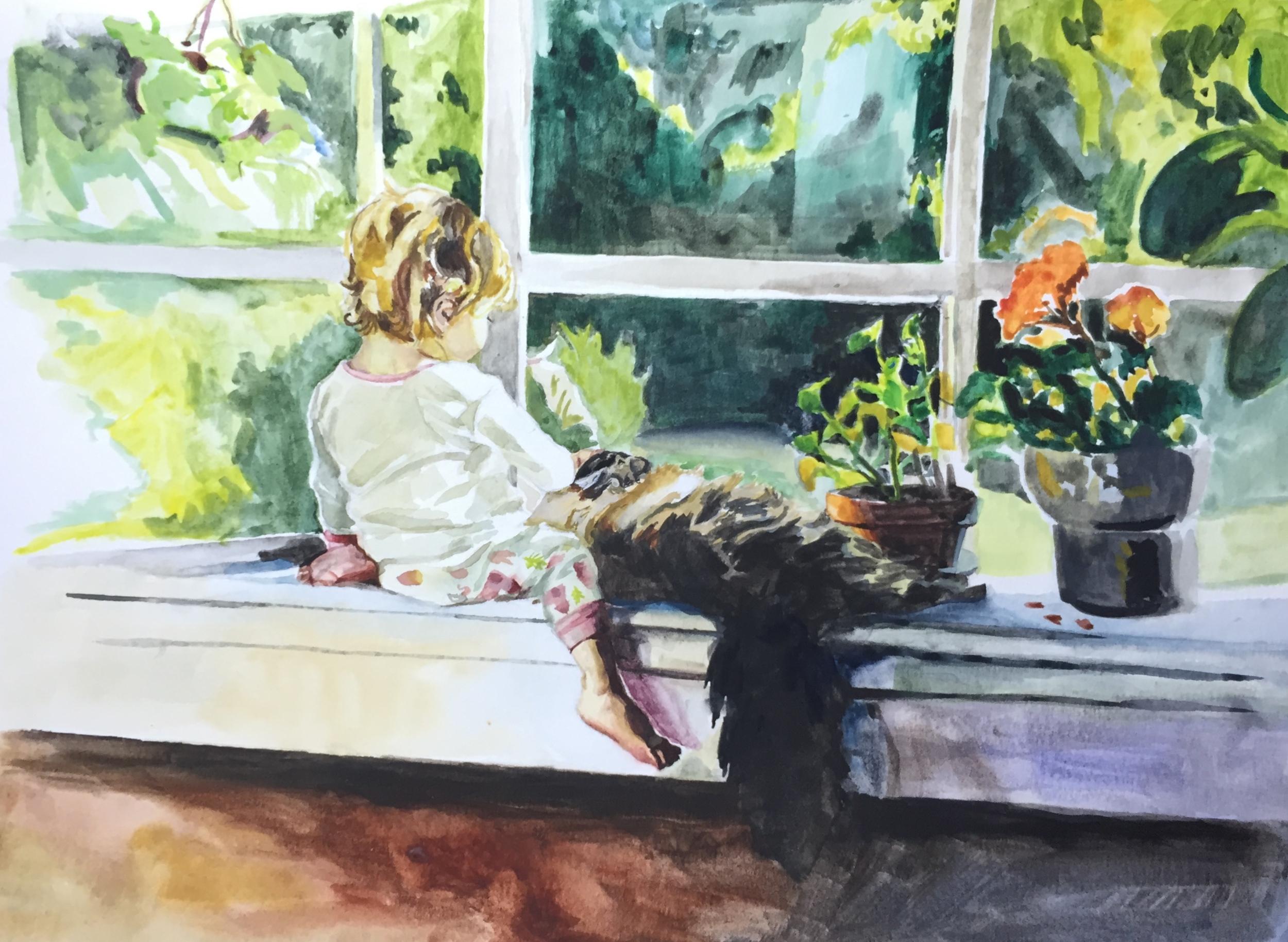 """watercolor, 11x15"""""""