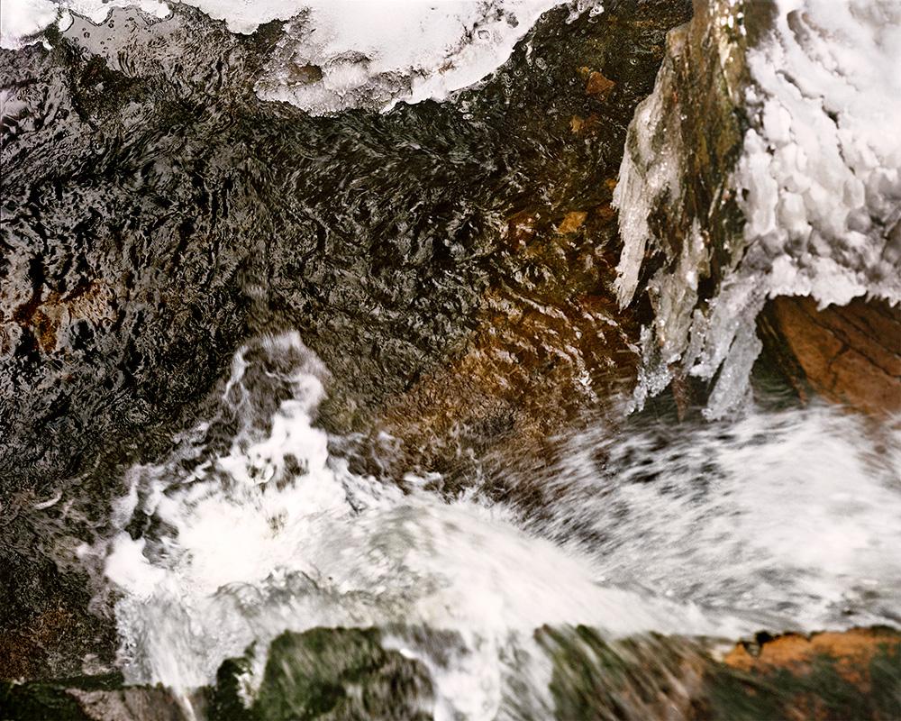 Thank G-d for Mississippi: Black Water Falls, WV   ,  2009   FujiFlex Digital C-Print 55x 44 Inches
