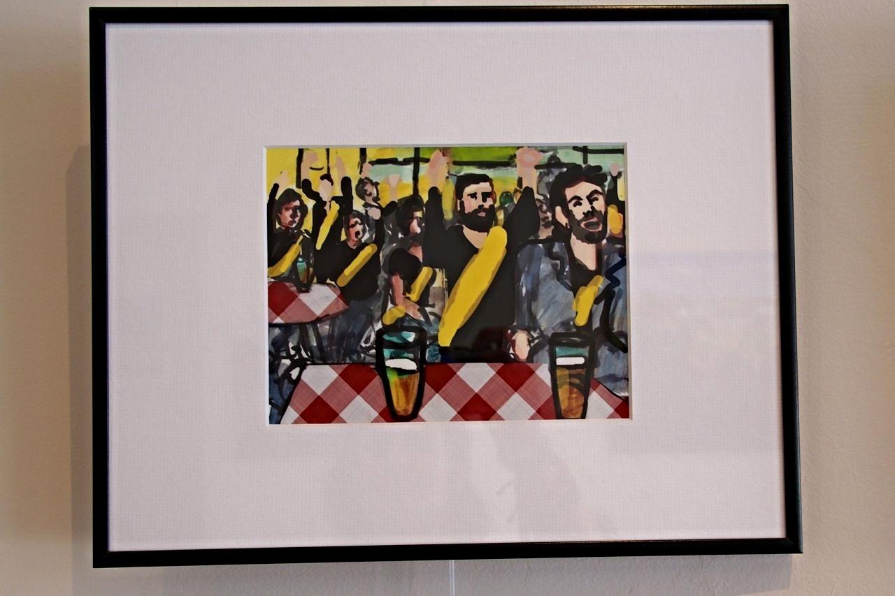 Framed Sample