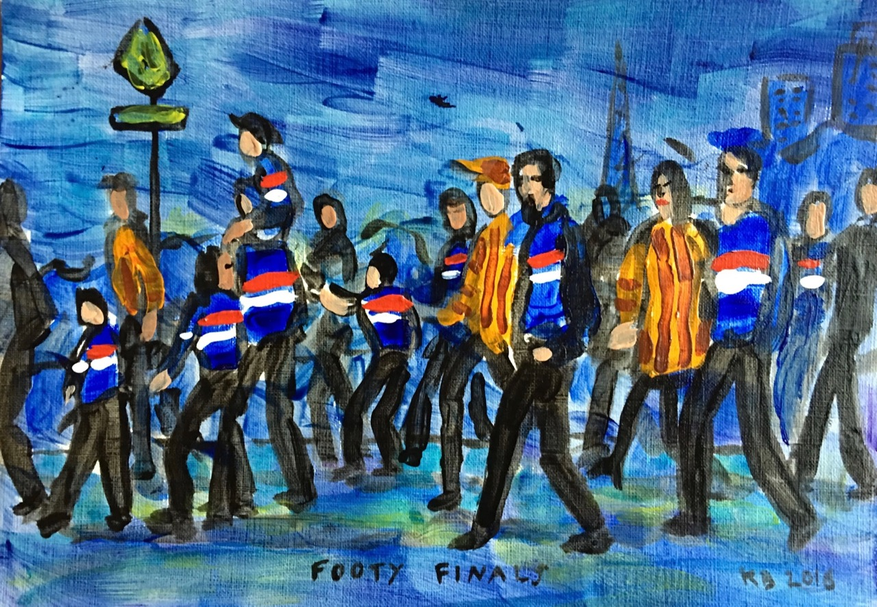 marching to the G
