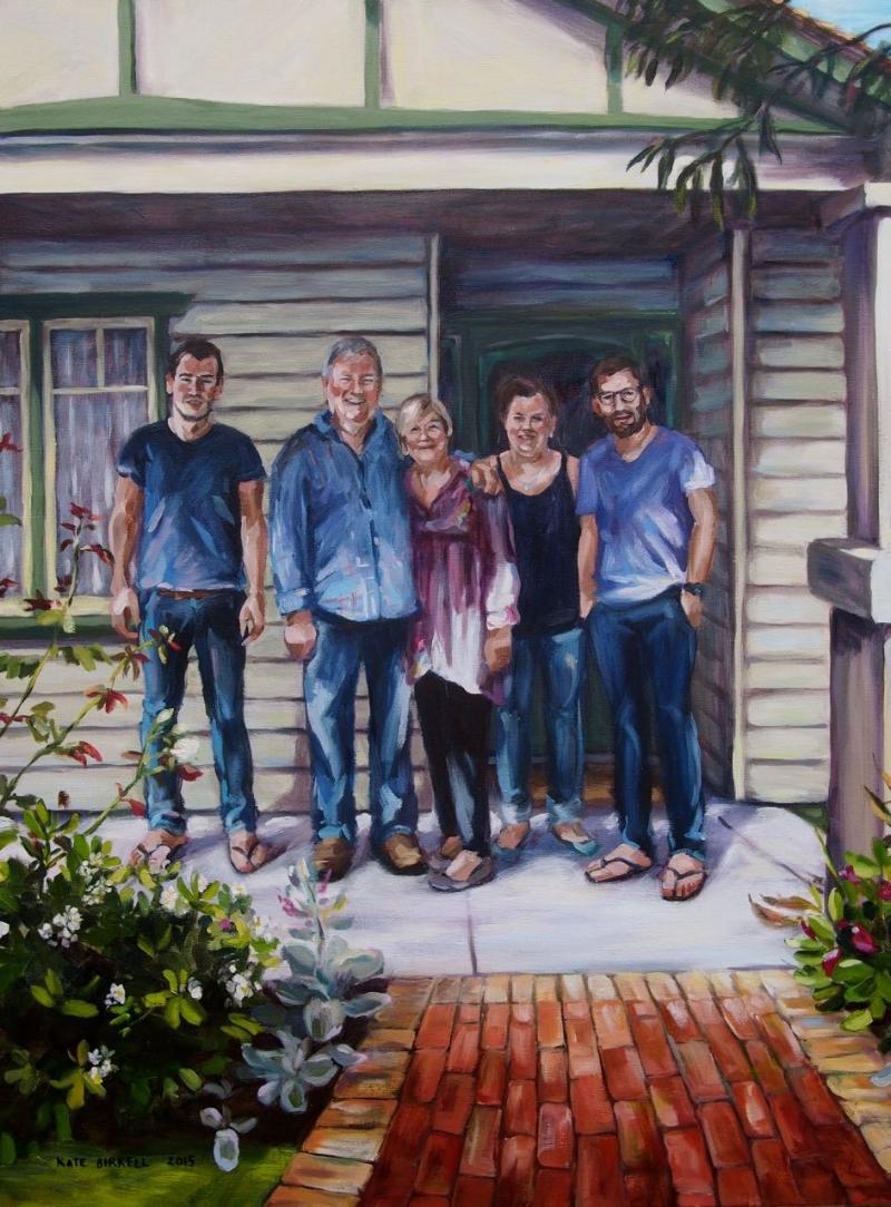Family Portrait, Front Veranda