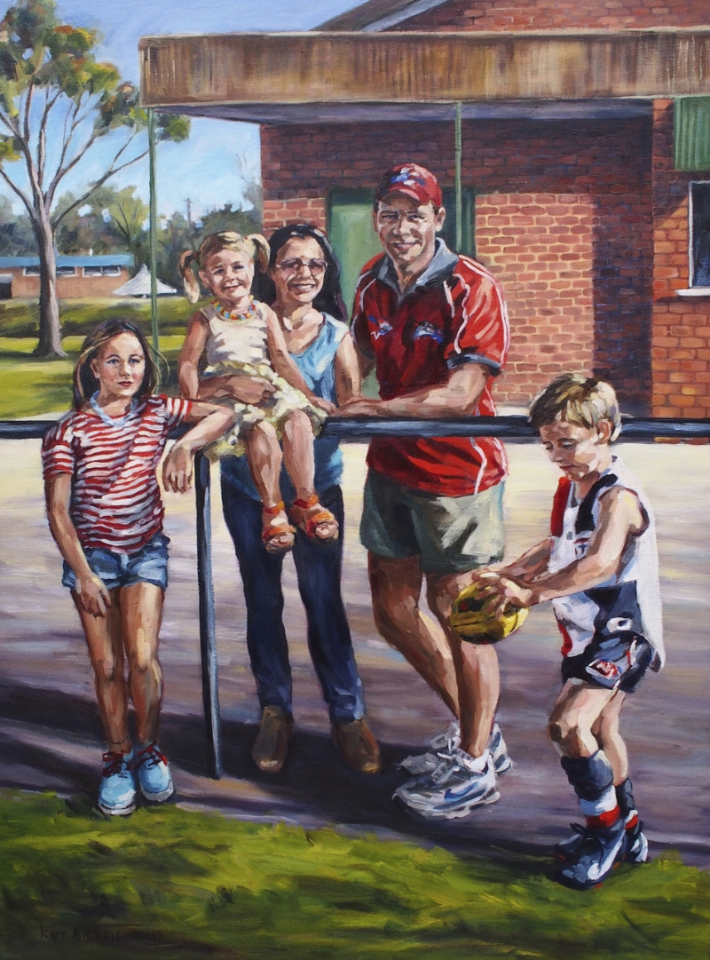 Family Portrait, Footy Club