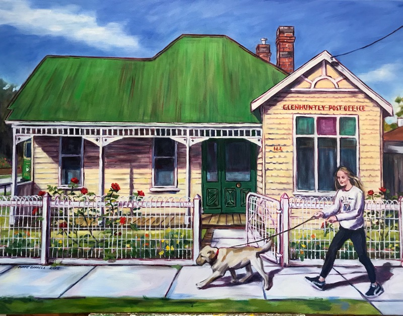 122 Grange Rd, Glen Huntly  Oil on Canvas  91cmH x 122cmW  2018