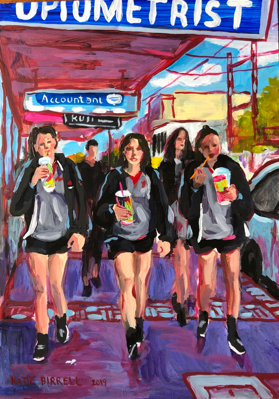 Slurpee Girls (sold)