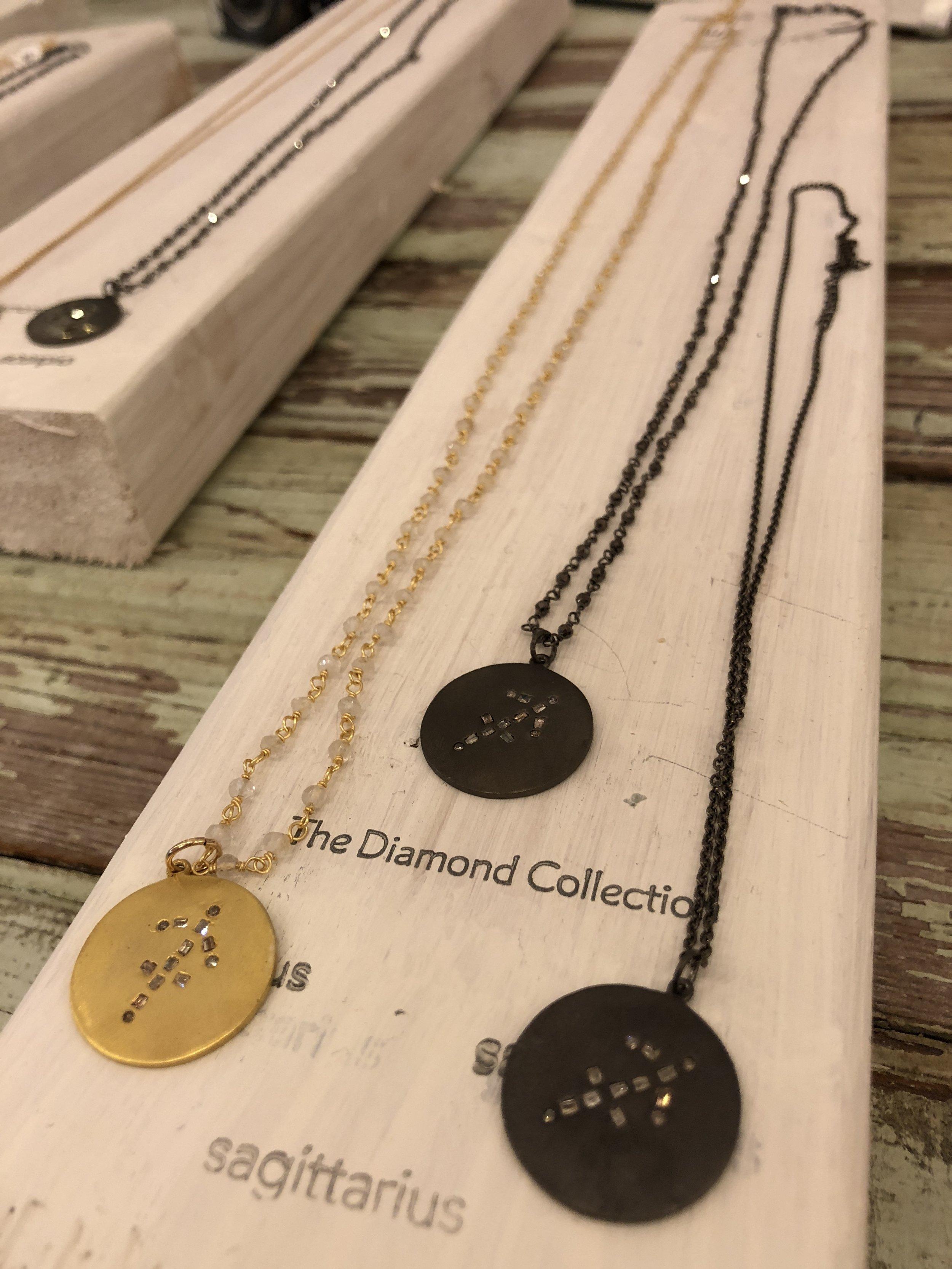 Zodiac Necklace by Sugar & Lola
