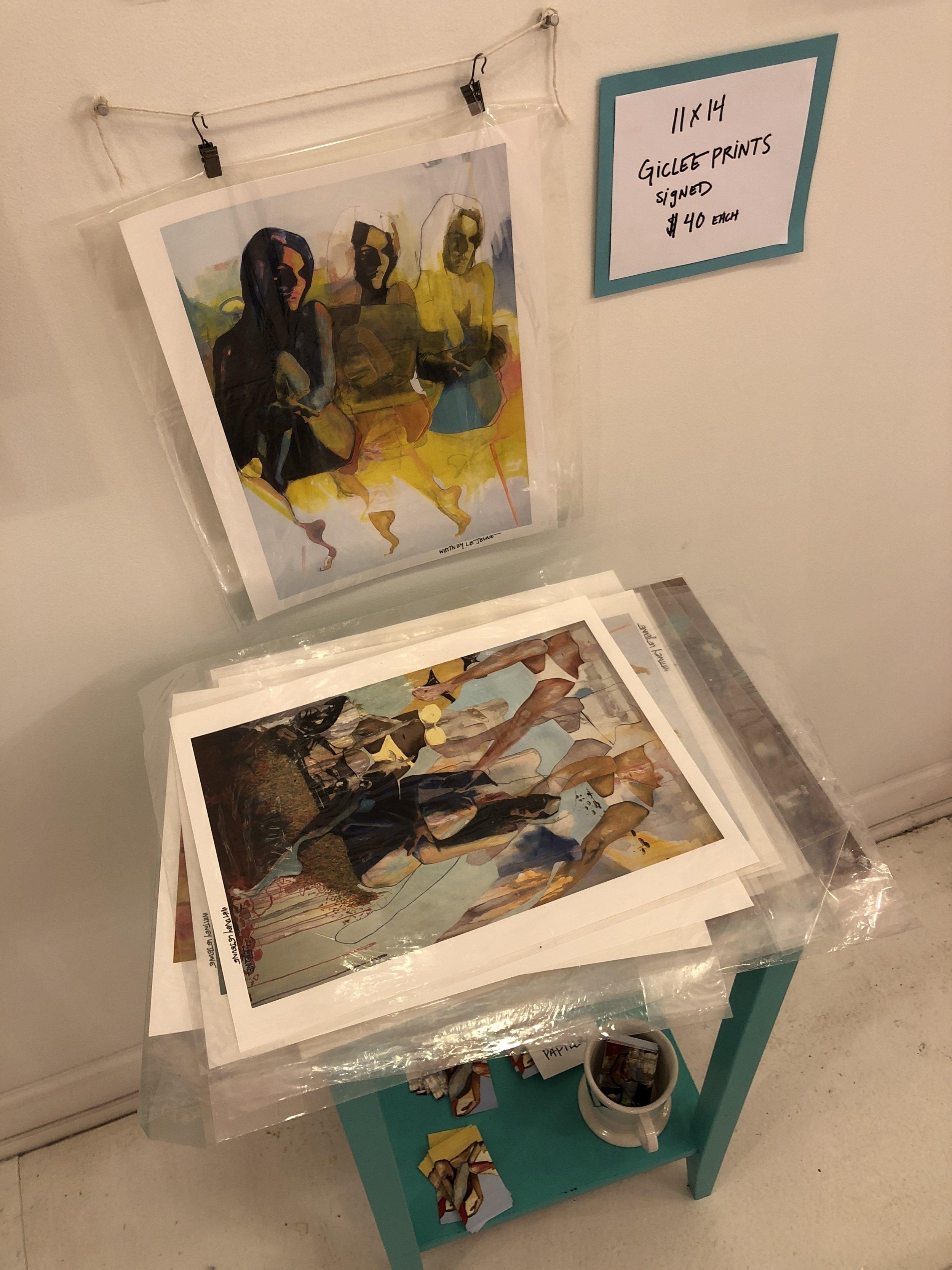 Prints by Witney Lejeune