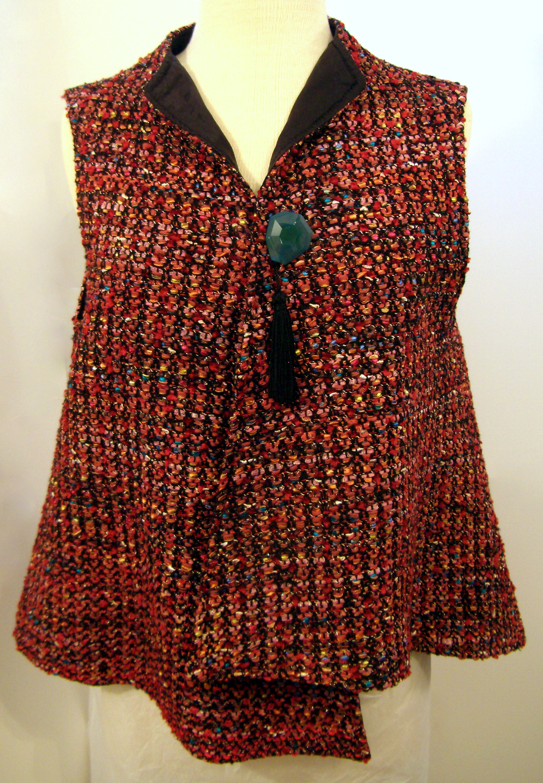 Handwoven Vest, Kathleen Weir-West, Business Clothing 1.JPG