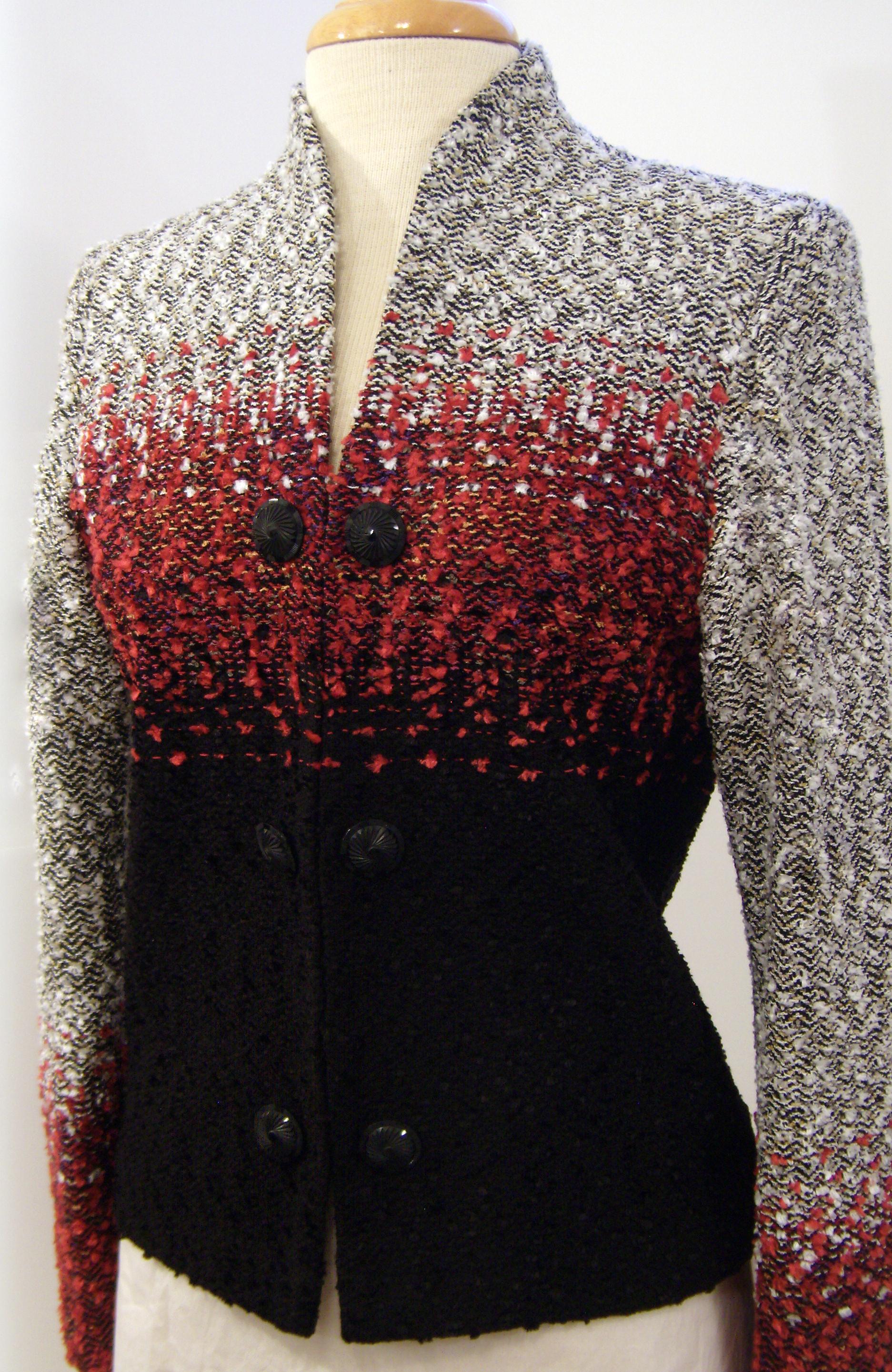 Hand Woven Jacket, Kathleen Weir-West, Fiber Art 10.JPG
