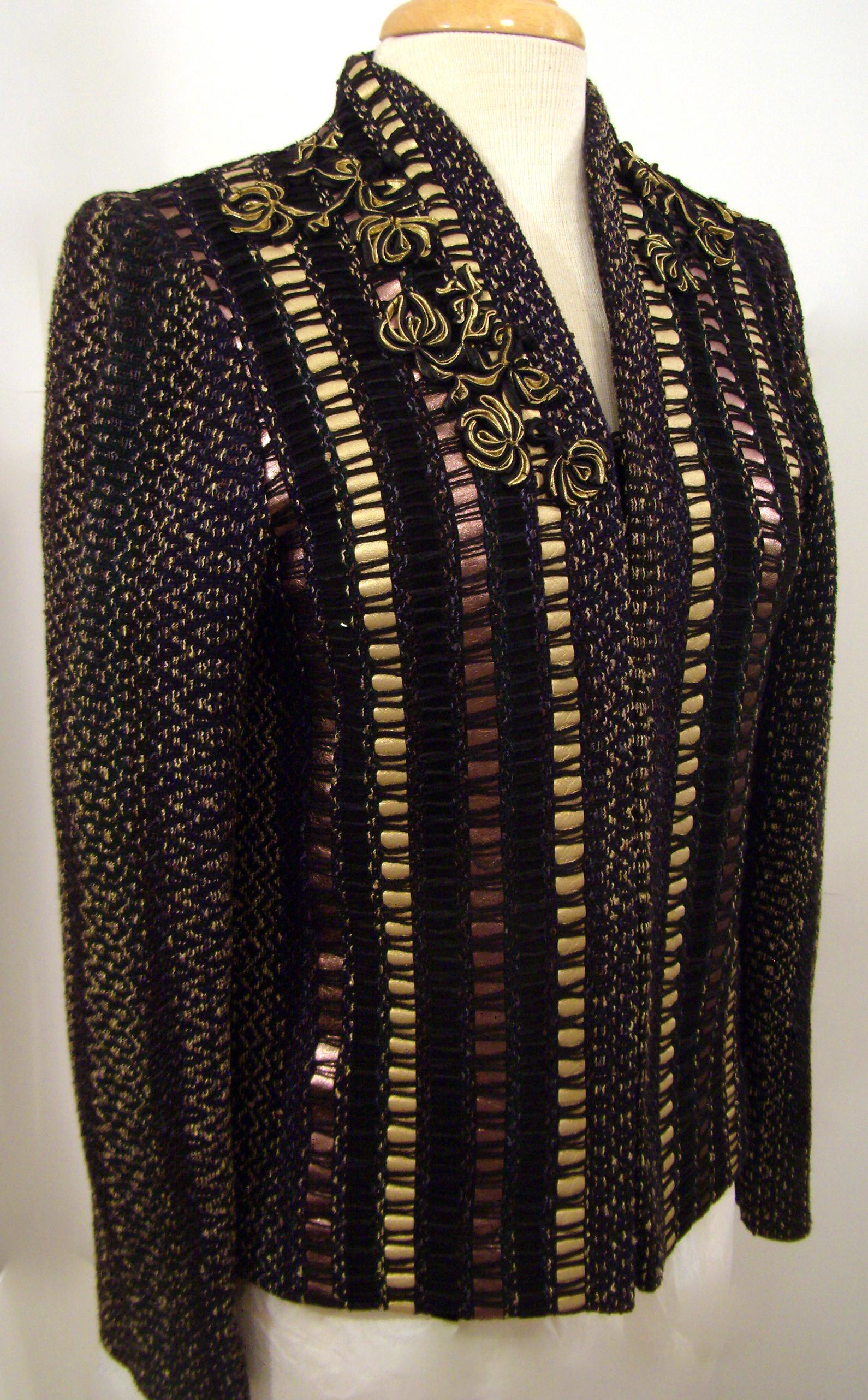 Handwoven Coat, Kathleen Weir-West, Business Wear 10.JPG