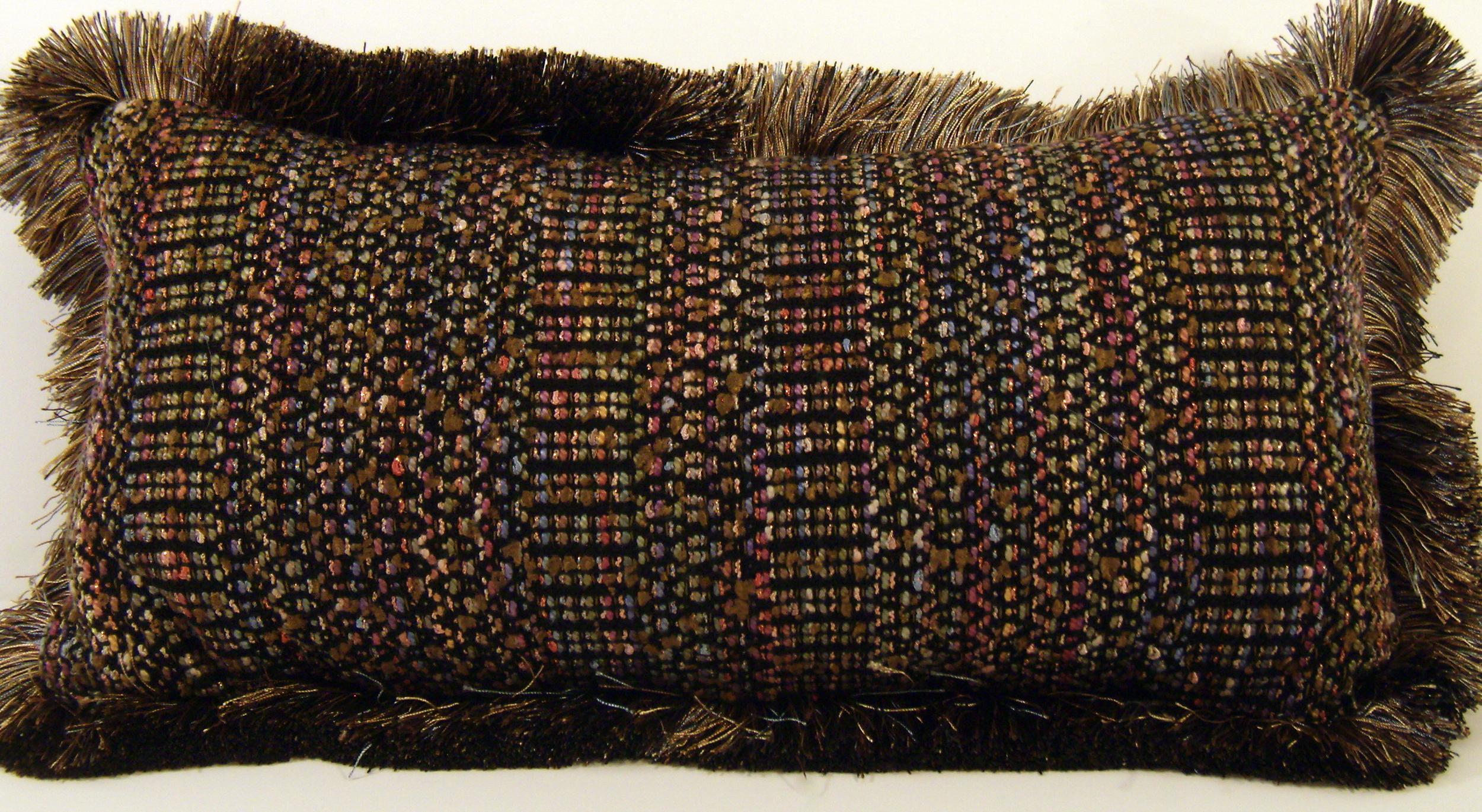 Pillows, Handwoven, Kathleen Weir-West 7-001.JPG