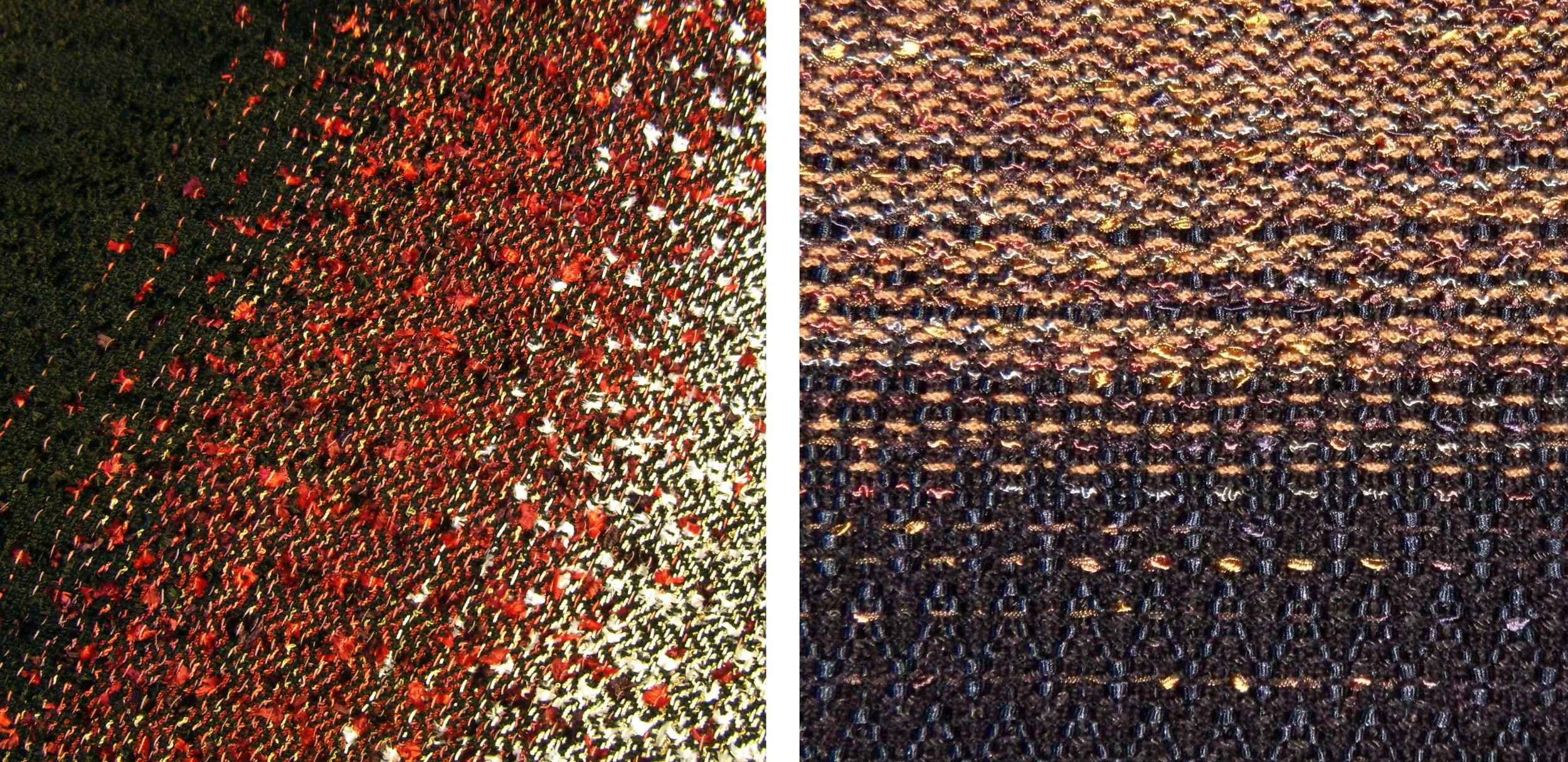 Black & Red to White, and Bronze to Black GRADATIONS.