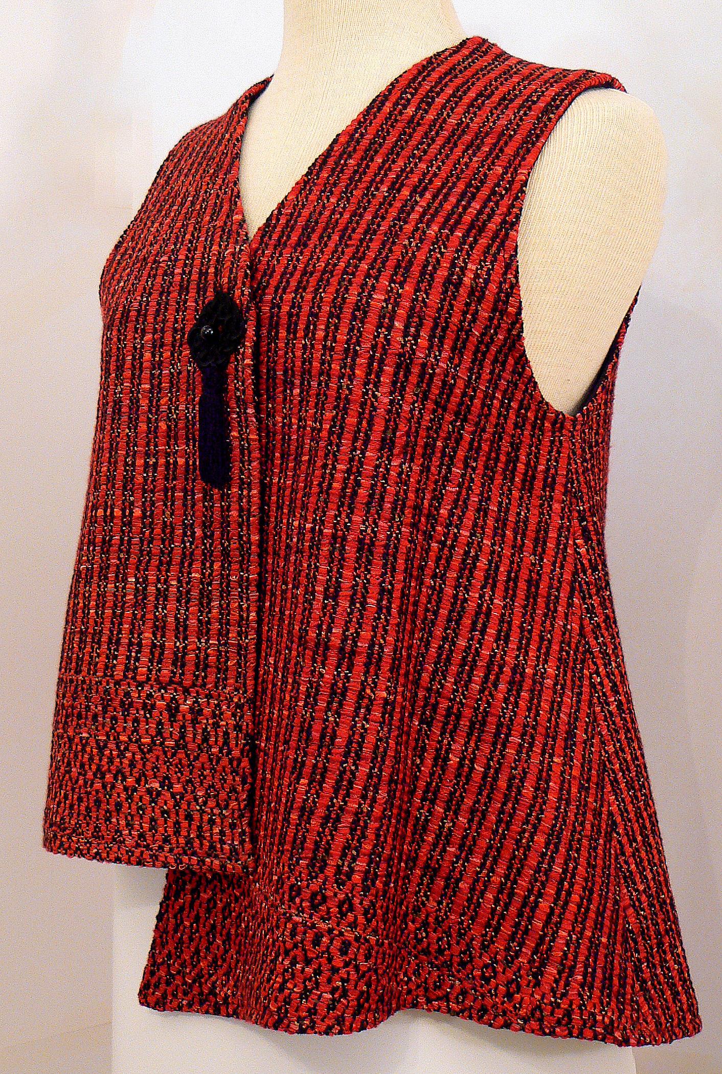 Handwoven Clothing, Vest, Kathleen Weir-West, 5-001.JPG