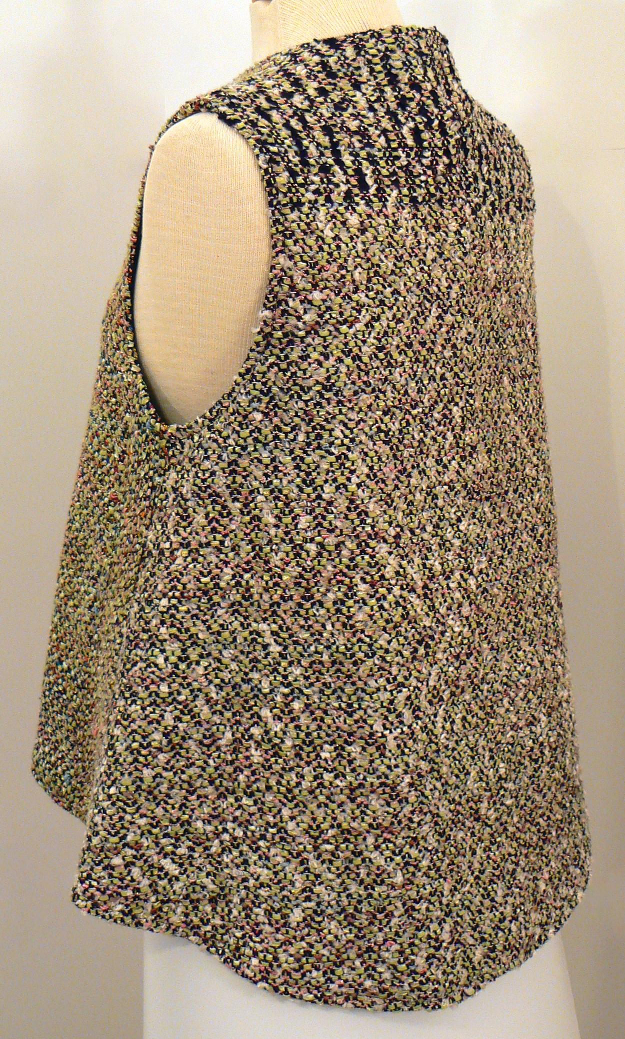 Handwoven Clothing, Vest, Kathleen Weir-West, 14-001.JPG