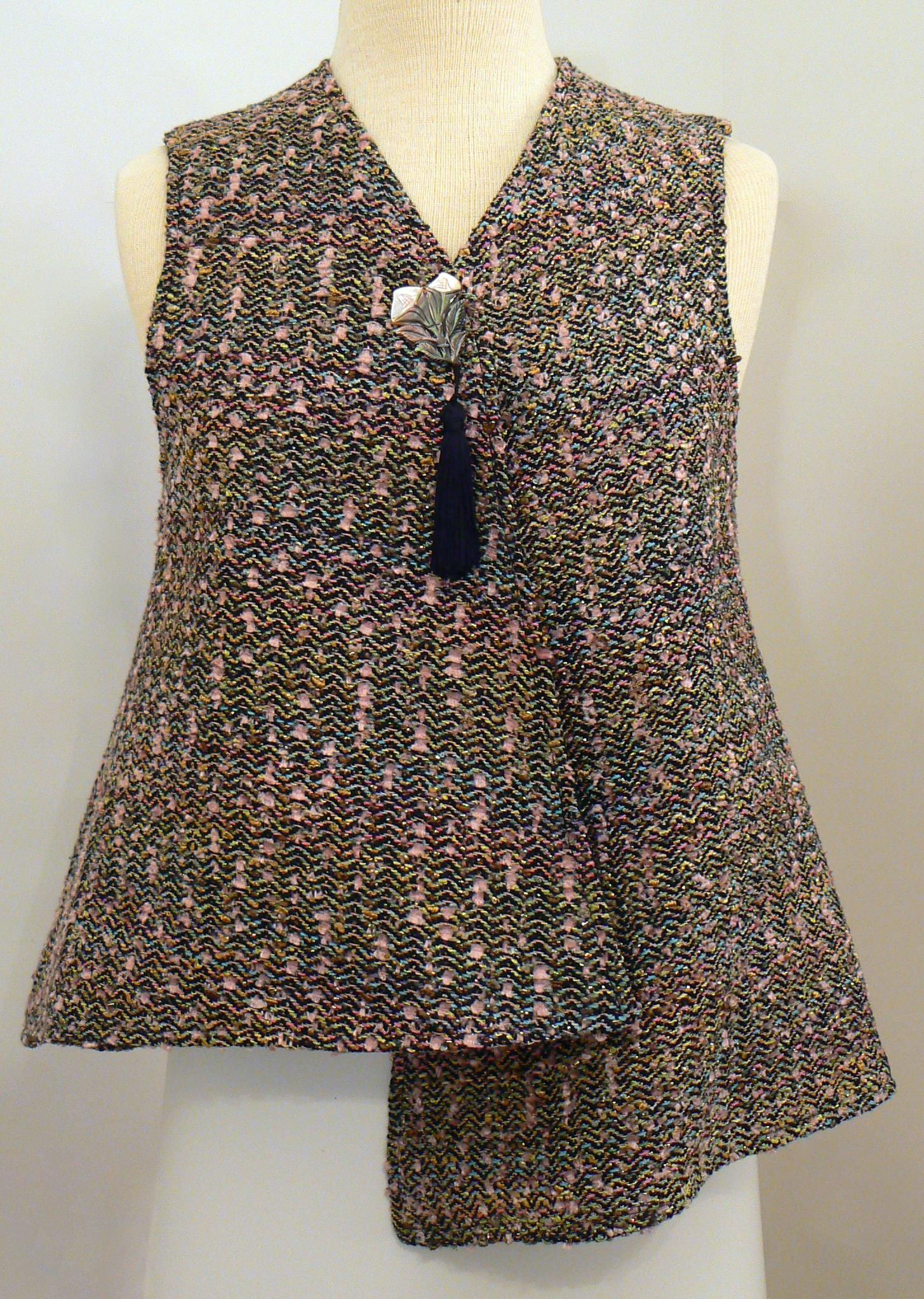 Handwoven Clothing, Vest, Kathleen Weir-West,27-001.JPG