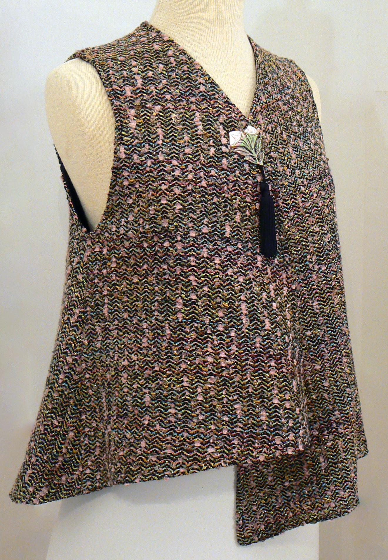 Handwoven Clothing, Vest, Kathleen Weir-West, 28-001.JPG